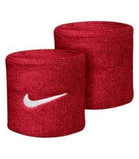 Nike Muñequeras Rojo Muñequeras - Cintas Running Textil Running