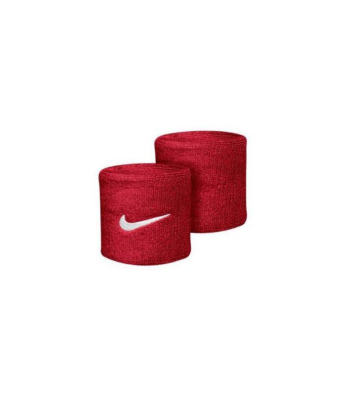Nike Muñequeras Rojo - Muñequeras - Cintas Running - Nike