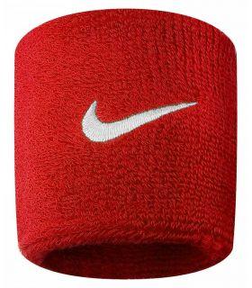 Nike Muñequeras Rojo Nike Muñequeras - Cintas Running Textil Running