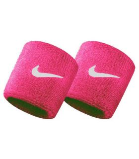 Nike Muñequeras Fucsia