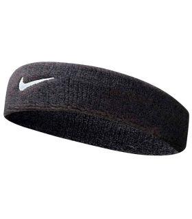 Nike Cinta Cabeza Swoosh Headband Negro Nike Muñequeras - Cintas Running Textil Running