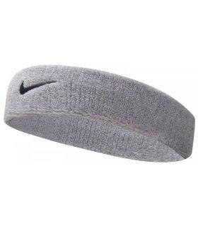Nike Bande De Tête Bandeau Swoosh Gris