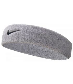 Nike Head Tape Swoosh Headband Grey