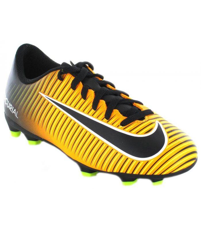 Nike Jr. Mercurial Vortex III FG Amarillo