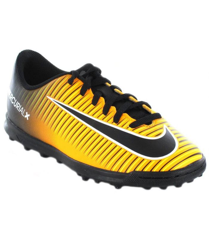 Nike Jr MercurialX Vortex TF III d'Orange