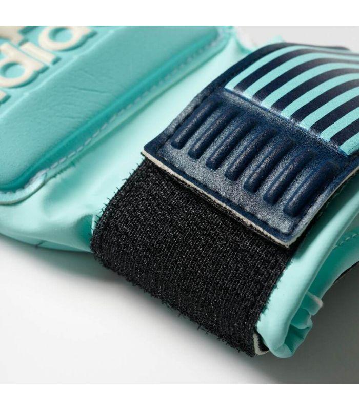 Guantes Portero - Adidas Guantes ACE Fingersave azul claro Fútbol