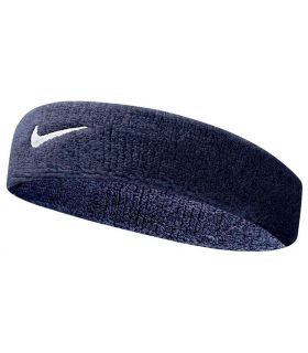 Nike Huvudet Bandet Swoosh Pannband Marinblå