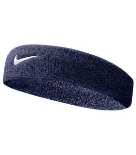 Nike Pää Nauha Swoosh Headband Tummansininen