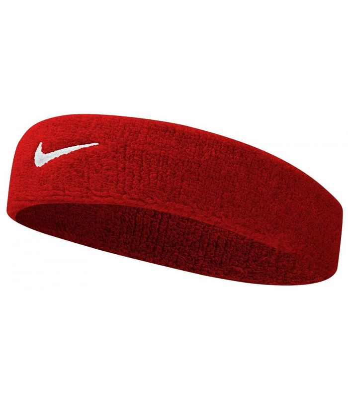 Nike Bande De Tête Swoosh Bandeau Rouge