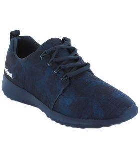 Desigual Upper Ribstop Dark Denim - Casual Shoe Woman