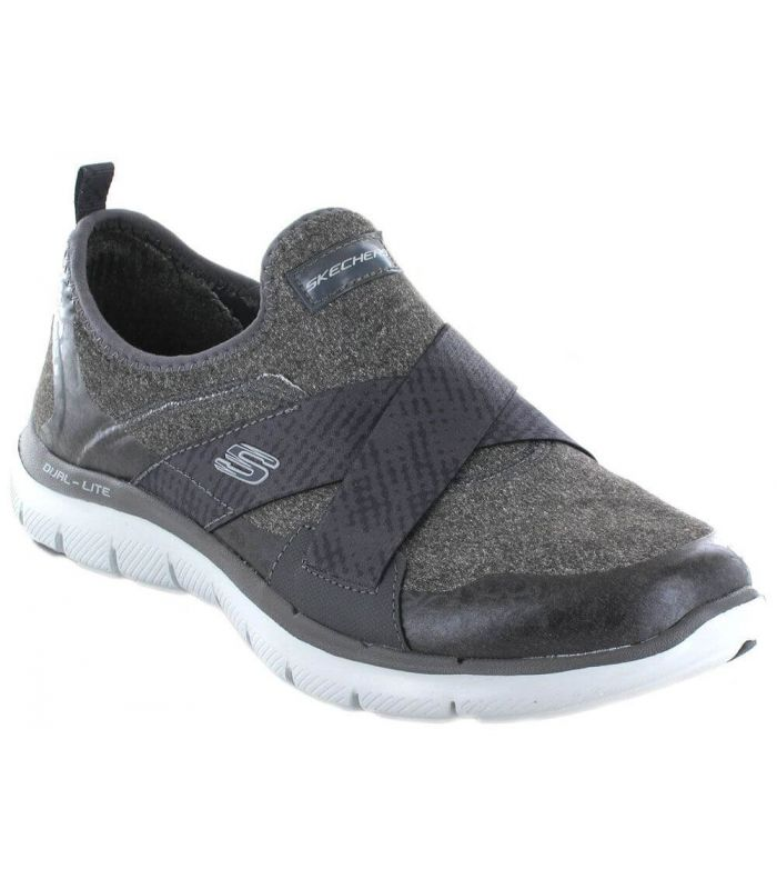 Skechers Bright Eyed Skechers Calzado Casual Mujer Lifestyle Tallas: 37, 38, 40; Color: gris