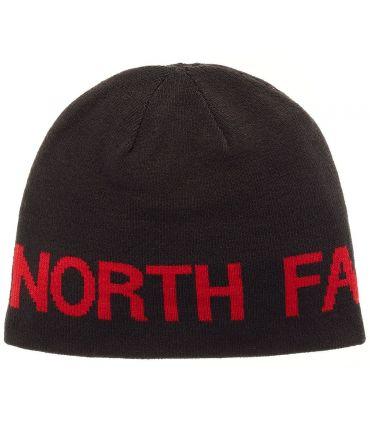 The North Face Gorro Reversible Banner Negro Rojo
