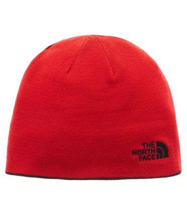 La Face Nord Chapeau Réversible Bannière Noir Rouge