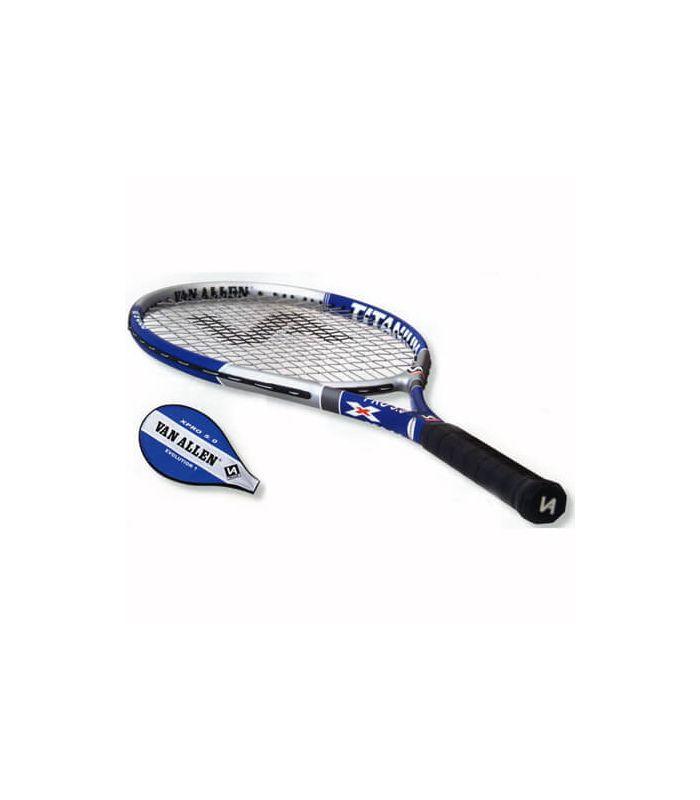 Raqueta tenis x-pro 5.0 evolution 1 Van Allen Raquetas tenis Tenis