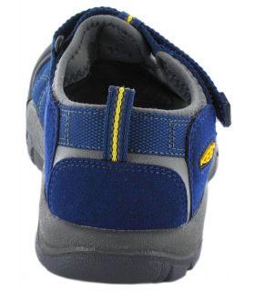 Keen Junior Newport H2 Azul Keen Sandalias / Chancletas Junior Calzado Montaña Tallas: 22; Color: azul