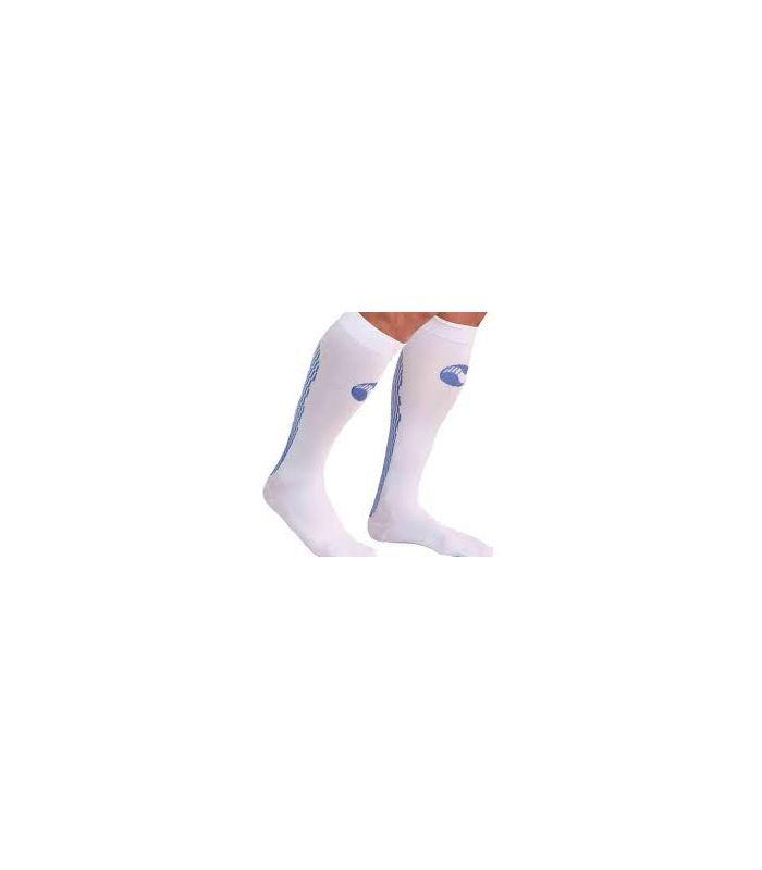 (Medilast Atletismo Blanc - Chaussettes De Montagne