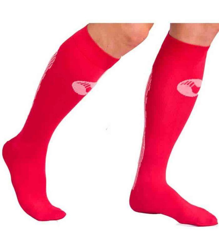 Calcetin Medilast Atletismo Rojo Calcetines Montaña Calzado