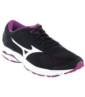 Mizuno Wave Stream W Mizuno Zapatillas Running Mujer Zapatillas Running Tallas: 37, 38, 38,5, 40; Color: negro