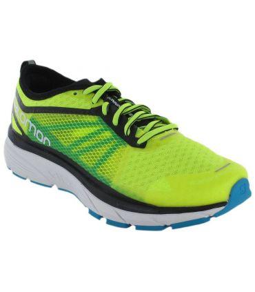 Salomon Sonic RA Salomon Zapatillas Running Hombre Zapatillas Running Tallas: 44 2/3, 45 1/3; Color: amarillo