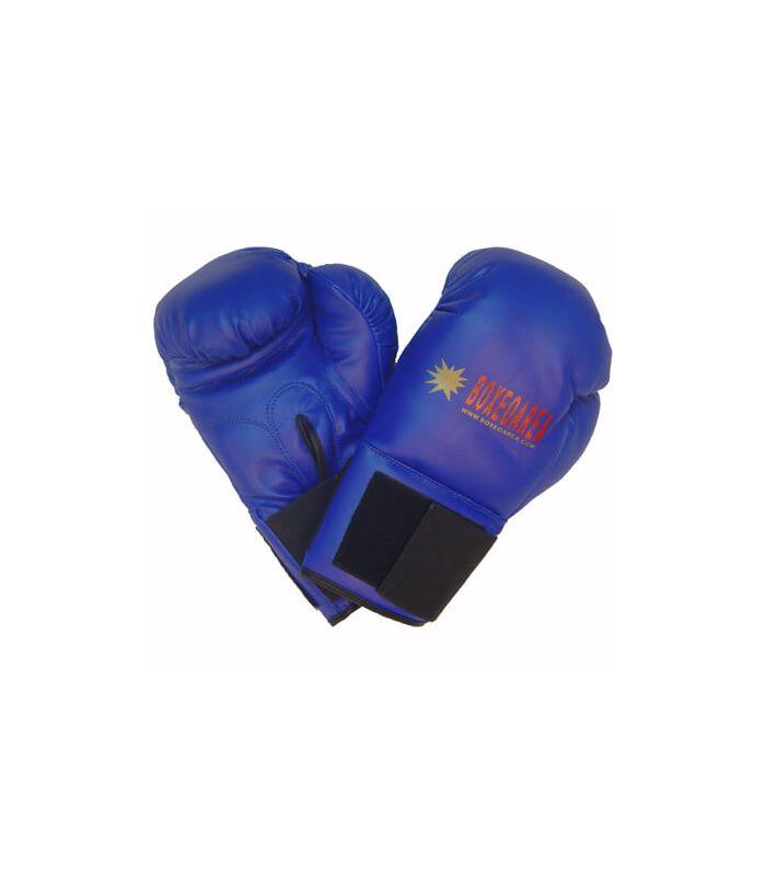 Gants de boxe BoxeoArea 1806 pu bleu