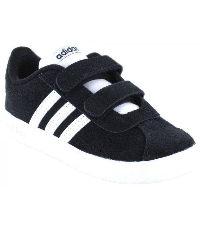 Calzado Casual Baby - Adidas VL Court 2.0 CMF I Negro negro Lifestyle