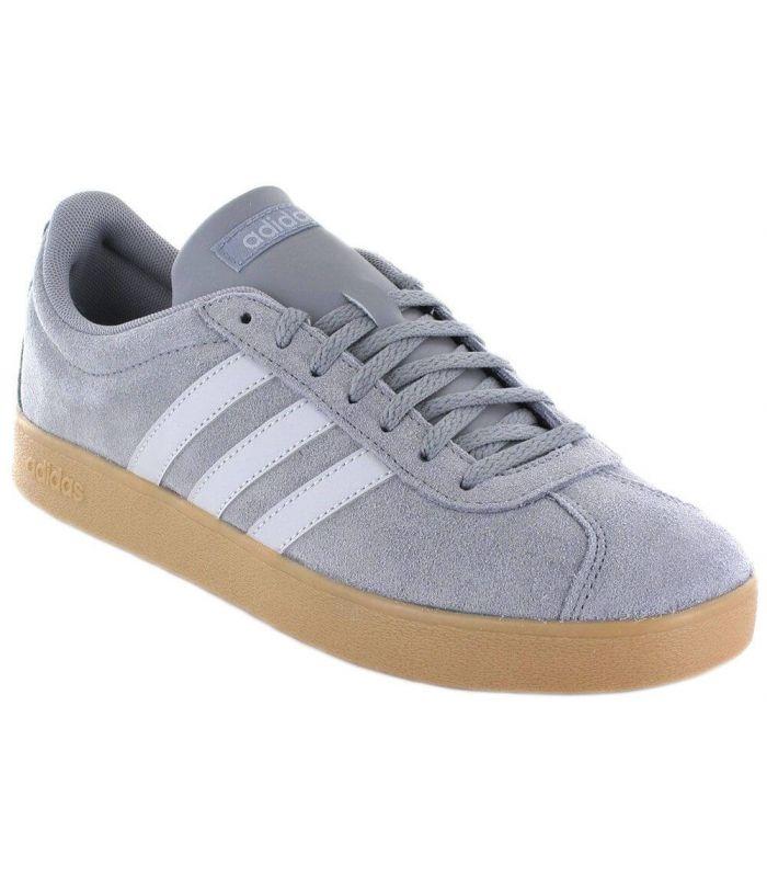 terraza banco Autorización  Calzado Casual Hombre - Adidas VL Court 2.0 Gris gris l Todo-Deporte.com