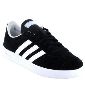 Adidas VL Court 2.0 W Negro Adidas Calzado Casual Mujer Lifestyle Tallas: 37 1/3, 38, 38 2/3, 40, 40 2/3, 41 1/3;