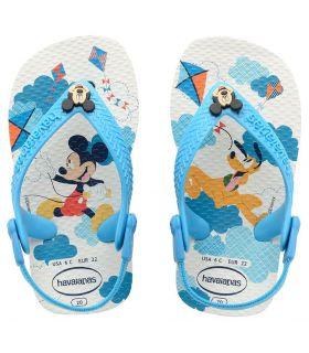 Havaianas Baby Mickey Azul