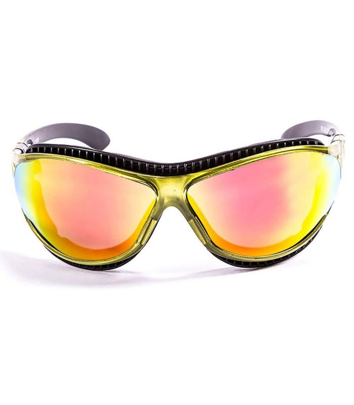 Ocean Fire Earth Shiny Green / Revo - Sunglasses Running