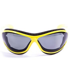 Ocean Fire Earth Shiny Yellow / Smoke - Sunglasses Running