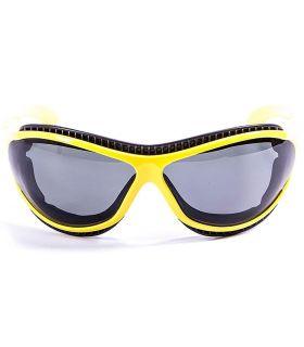 Gafas de sol Running - Ocean Tierra de Fuego Shiny Yellow / Smoke Running