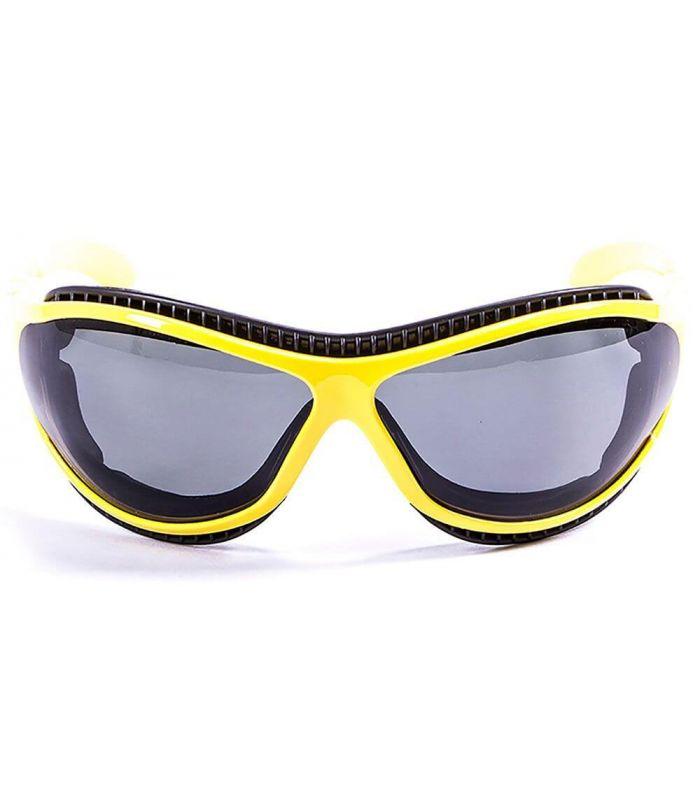 Ocean Fire Earth Shiny Yellow / Smoke - Running sunglasses