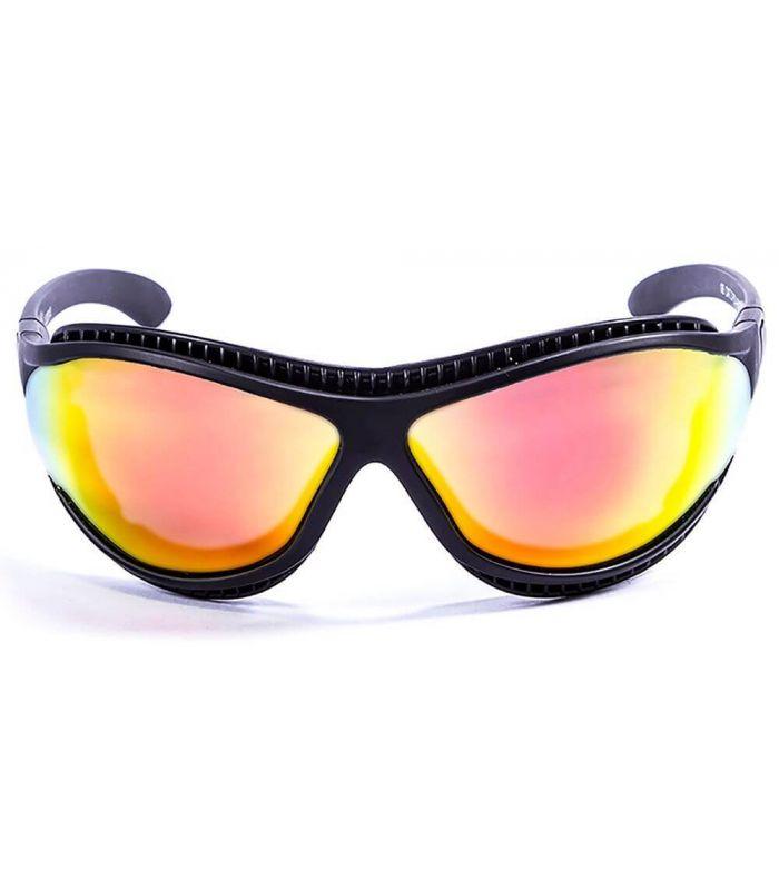 Gafas de sol Running - Ocean Tierra de Fuego Mate Black / Revo negro Running