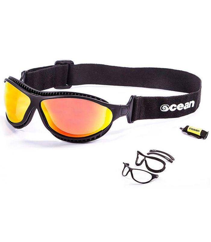 Ocean Fire Earth Matte Black / Revo - Sunglasses Running