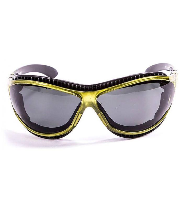 Ocean Fire Earth Shiny Green / Smoke - Running sunglasses