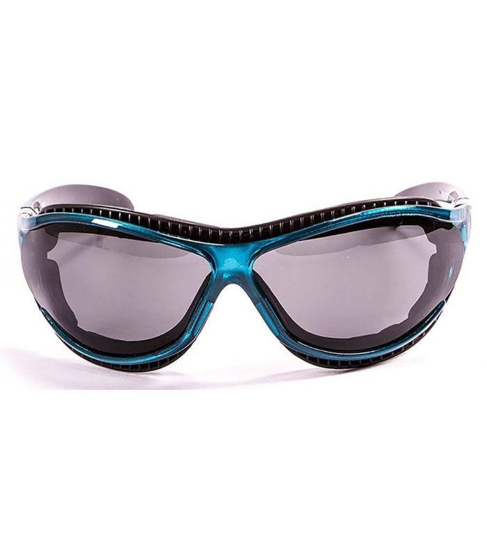 Ocean Fire Earth Shiny Blue / Smoke - Sunglasses Running