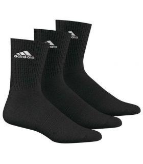 Adidas 3S Performance de la Cheville de la Moitié Noir