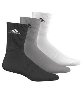 Adidas 3S Ytelse Ankelen Halvparten Multi