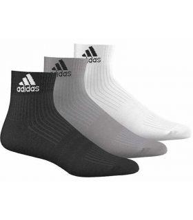 Adidas Calcetin Cr HC 3p Multi - Calcetines Running - Adidas gris 35 / 38, 39 / 42, 43 /