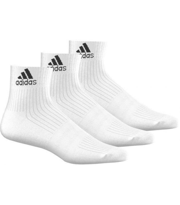 Calcetines Running - Adidas Calcetin Cr HC 3p Blanco blanco Zapatillas Running