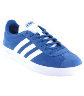 Adidas VL Court 2.0 Azul Adidas Calzado Casual Hombre Lifestyle Tallas: 40, 44, 44 2/3, 45 1/3, 46; Color: azul