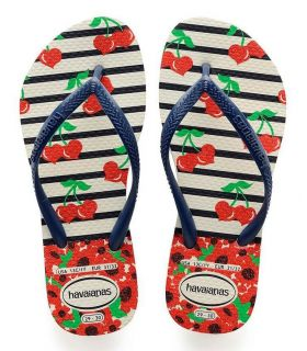 Tienda Sandalias / Chancletas Junior - Havaianas Kids Slim Fashion azul Sandalias / Chancletas