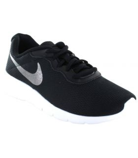 Nike Tanjun GS Negro Plata - Calzado Casual Junior - Nike negro 37,5, 38, 38,5, 39