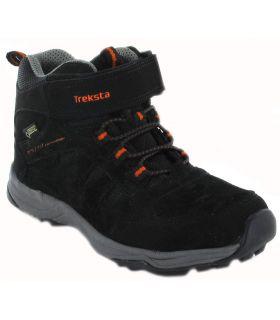 Treksta Hiking Semi Mid Jr Gore-Tex - Botas de Montaña Niño - TrekSta negro 28, 36, 29
