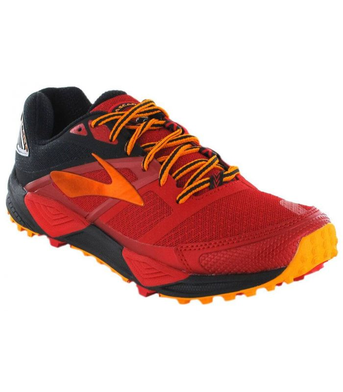 Brooks Cascadia 12 Rouge