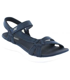 Skechers Brilliancy Azul - Tienda Sandalias / Chancletas Mujer - Skechers azul marino 37