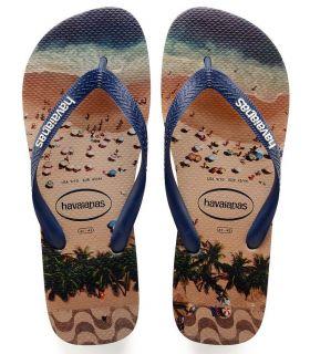 Havaianas Hype Beige Havaianas Tienda Sandalias / Chancletas Hombre Sandalias / Chancletas Tallas: 43 / 44, 45 / 46;