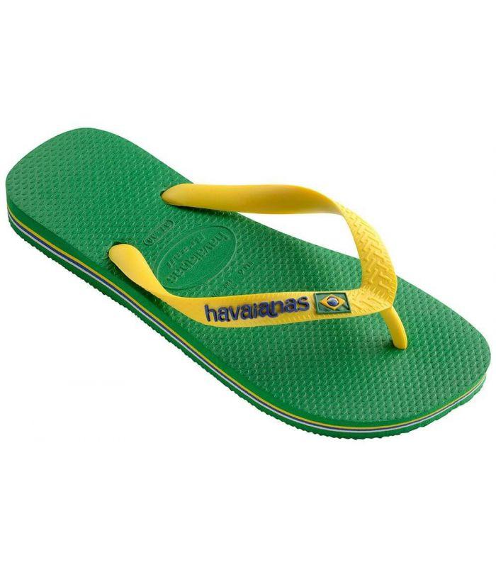 Havaianas Brasil Logo Green - Shop Sandals/Man Chancets Man