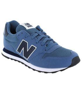 New Balance GM500BBN New Balance Calzado Casual Hombre Lifestyle Tallas: 40,5, 46,5; Color: azul