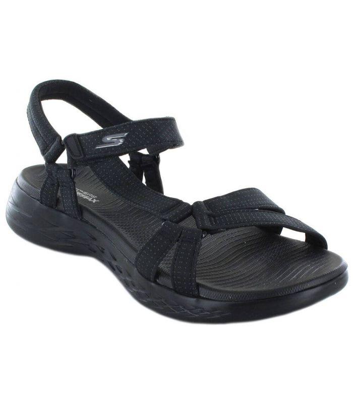 Skechers Brilliancy Negro - Shop Sandals / Flip Flops Women